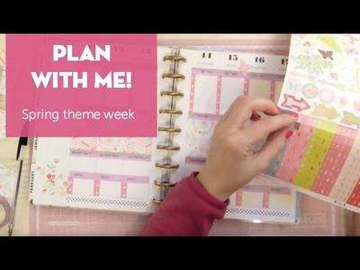 ¡Decorando mi agenda! Semana primaveral