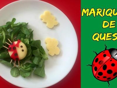 MARIQUITA de queso * Recetas MINI BABYBEL
