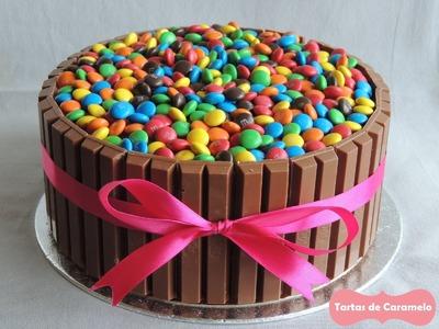Pastel de KitKat