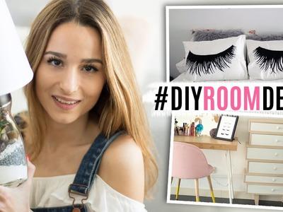 2 DIYs para decorar tu cuarto & nuevos muebles | ROOM DECOR