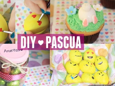 3 IDEAS FÁCILES PARA HACER EN PASCUA ♥ | What The Chic