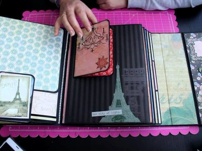 Album Le Tres Chic Bellaluna crafts Scrapbooking