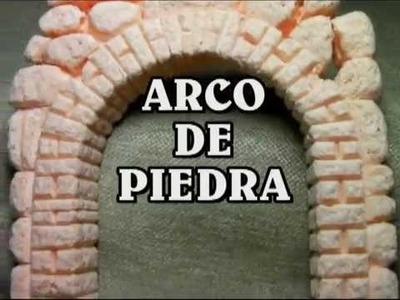 ARCO DE PIEDRA PARA BELENES DIY resumido lascosasdelalola - ARCH OF STONE IMITATION FOR BELEN