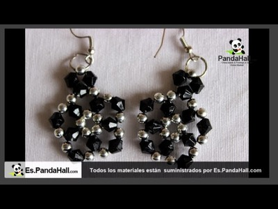 Aretes en perlas de cristal AUSTRIA .es.pandahall.com.9