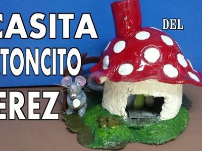 Casa del Ratoncito Perez y quemador de conos de incienso