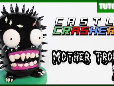 Castle Crashers ✰ Mother Troll Tutorial ✰ Polymer Clay ✰ Porcelana Fría ✰ Plastilina