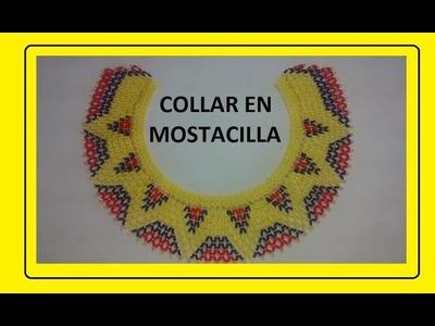 COLLAR COLOMBIA EN MOSTACILLA