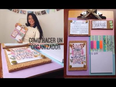 Como hacer un organizador l DIY vuelta a clases