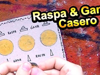 Cómo hacer un Raspa & Gana casero | Arte Track