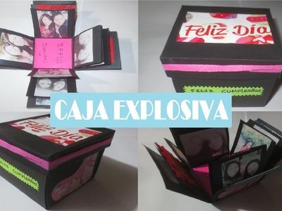 Como Hacer Un Regalo - Caja Explosiva - Álbum De Fotos