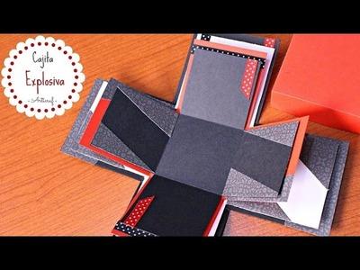 Como Hacer Una Caja Explosiva Para el Novio | San Valentín