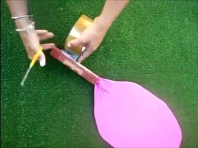 Cómo hacer una RAQUETA con una percha