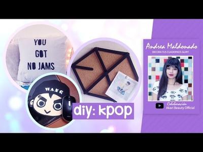 DIY K-pop: ¡Decoraciones k-pop para tu cuarto! | EXO,GOT7,BTS