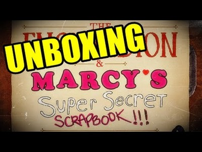 Marcy's Super Secret Scrapbook. UNBOXING by FanTasmaN