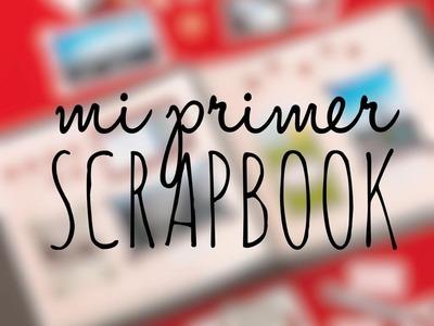 Mi Primer Scrapbook.Principiante haciendo Scrap