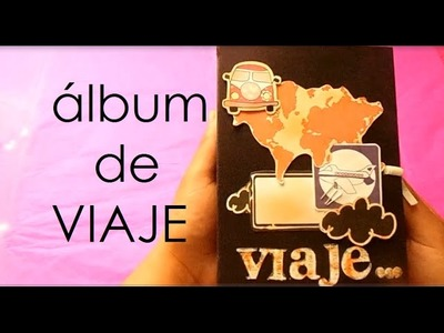 Mini álbum de viaje - TUTORIAL con medidas en centimetros