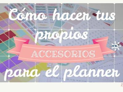 Planner: Pegatinas Handmade. Tutorial. Planner Love Doki. Cameo.