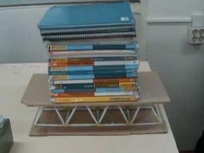 Proyecto de Tecnología: Estructura piramidal con barras de papel