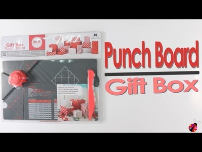 Punch Board Gift Box - We R Memory Keepers