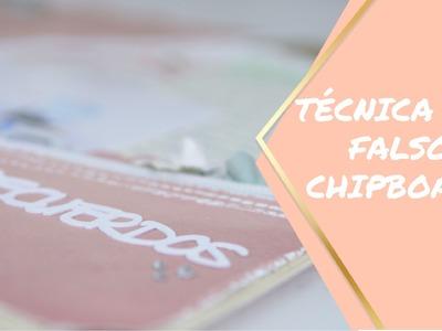 Scrapbooking: Técnica del Falso Chipboard. Como hacer adornos con relieve.