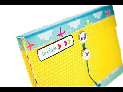 Tutorial: Mini album desplegable | Scrapbooking para principiantes