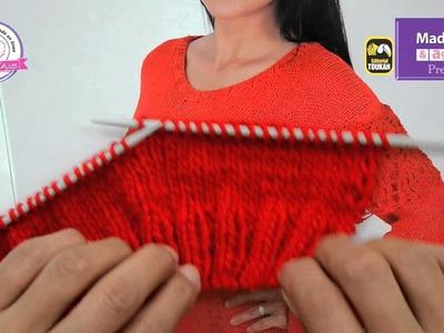 Aprende a tejer con agujas