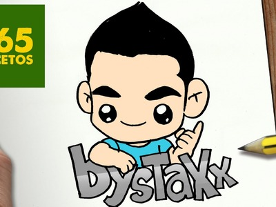 COMO DIBUJAR BYSTAXX KAWAII PASO A PASO - Dibujos kawaii faciles - How to draw a BYSTAXX
