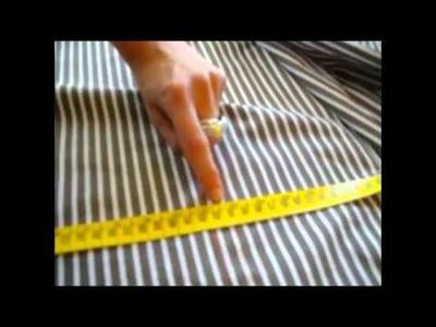 Cómo entallar una camisa recta