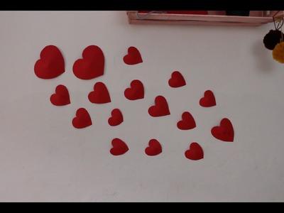 Como hacer un corazón sin plantilla I SAN VALENTÍN I cucaditasdesaluta