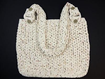 Crochet: Bolso Casual