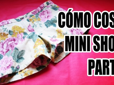 DIY: Cómo coser mini short (Parte 1)