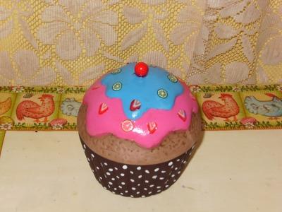DIY Cómo pintar un Cupcake en cerámica