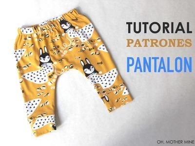 DIY Pantalon legins bebe (modelo 1)