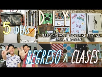 DIY: REGRESO A CLASES | FÁCIL Y RÁPIDO