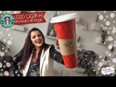 Envoltura Vaso Gigante de Starbucks :: Ideas Navideñas :: Chuladas Creativas
