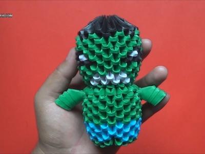 Origami 3D Mini Hulk