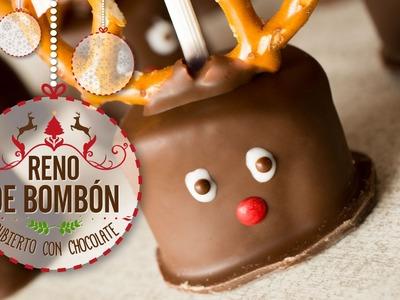 Reno de Bombón Cubierto de Chocolate