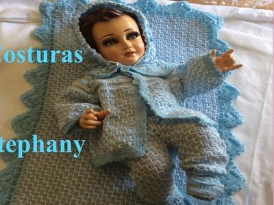 Terminando los ultimos detallitos para vestir a mi NIÑO DIOS con ropita de Gancho o Crochet