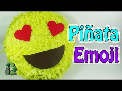 189. Manualidades: Como hacer una piñata emoji o emoticono (Reciclaje) Ecobrisa