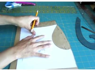 Como se hace una falda con bolsas