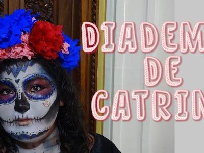 Hazlo tu mism@ DIY 21: Corona de Flores + Diadema de Catrina + Diadema de flores