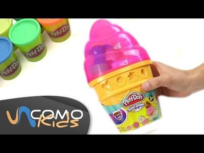 Juguetes Play doh - Cucurucho de helado