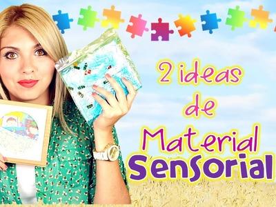2 IDEAS DE MATERIAL SENSORIAL :) !!!!