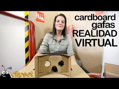 Cardboard gafas Realidad Virtual unboxing en español