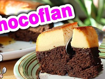 Chocoflan   Pastel imposible   Torta Imposible paso a paso receta facil