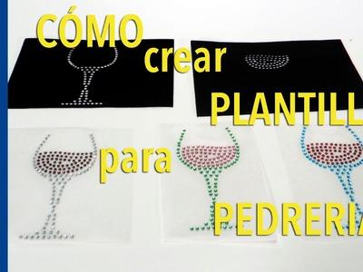 Cómo crear plantillas de pedrería Silhouette