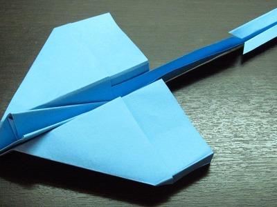 Como hacer Aviones de papel planeadores Modelo DC3 paso a paso (Muy fácil)