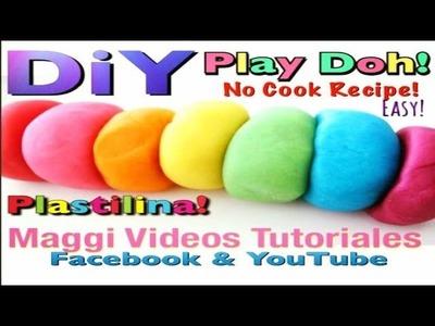 Como hacer Plastilina Casera  Play Doh