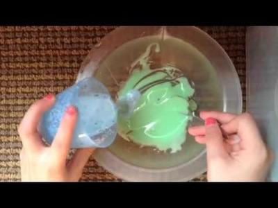 Cómo hacer Slime sin bórax sin harina y sin detergente líquido