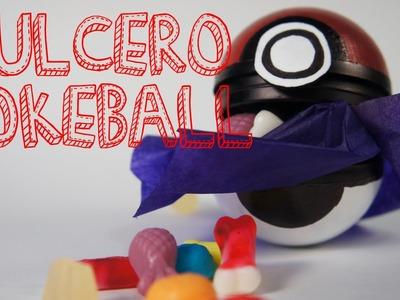 Cómo hacer un dulcero Pokeball feat FIELTROPIEZOS (manualidades recicladas)